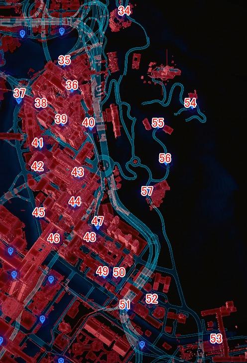 ウエストブルックのマップ