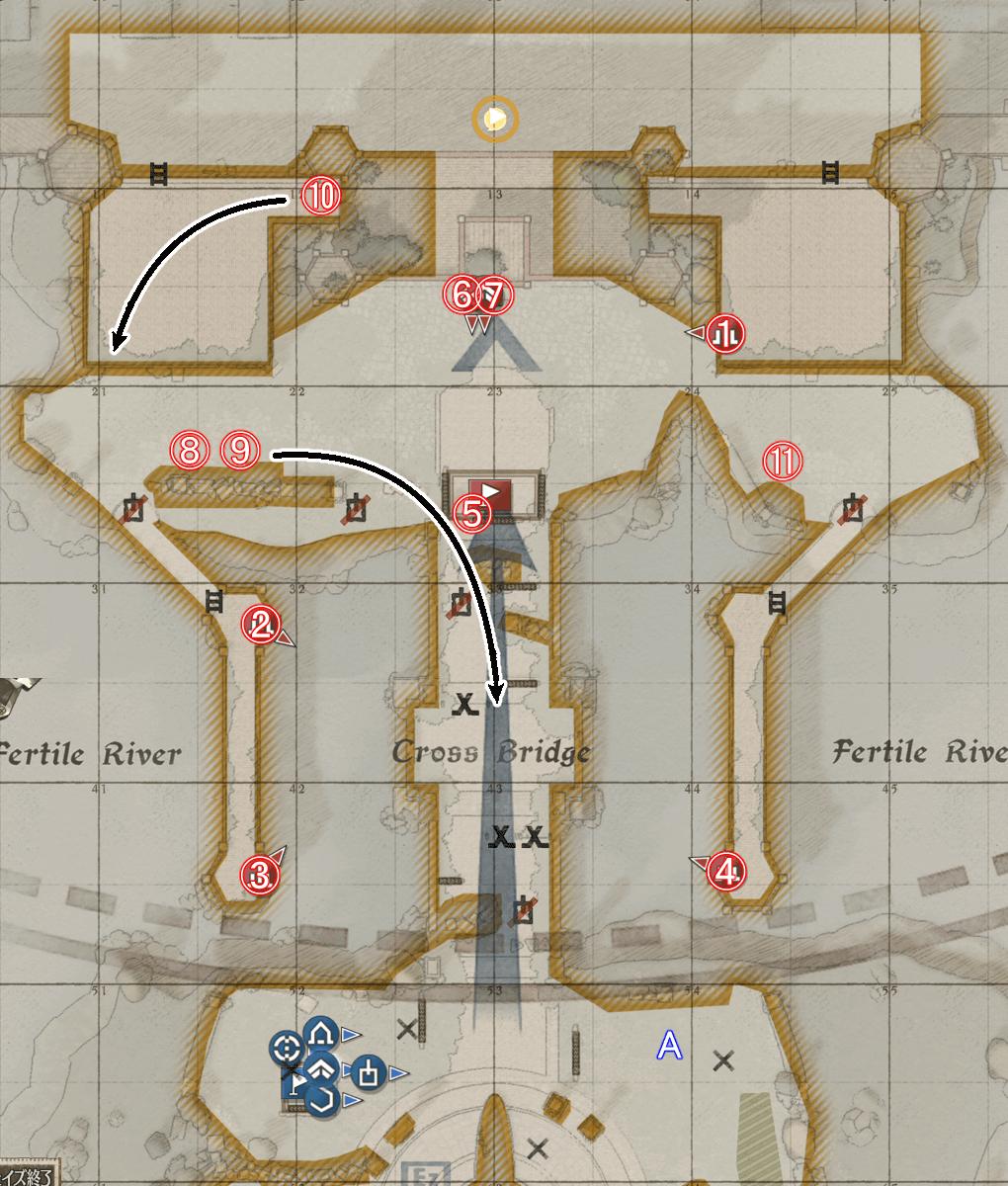クレスト要塞攻略戦